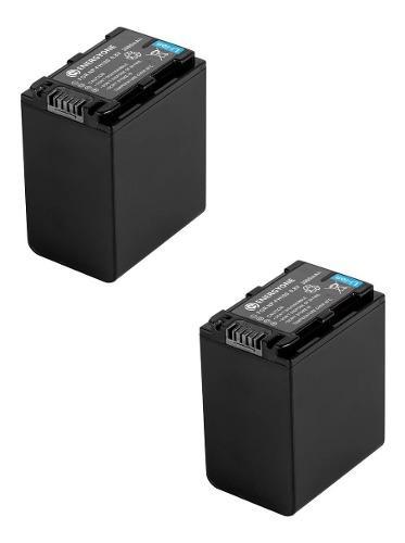 Kit 2 Baterías Fh-100 Para Sony Handycam Videocamara