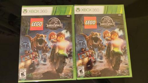 Lego Jurassic World Xbox 360 Nuevo, Sellado
