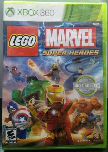 Lego Marvel Super Heroes.-360