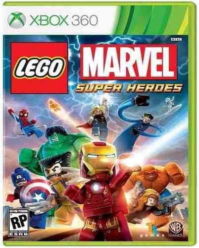 Lego Marvel Super Heroes Xbox 360 Nuevo Y Sellado Juego