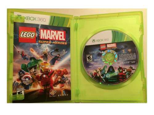 Lego Marvel Super Heroes Xbox 360 Usado Blakhelmet C