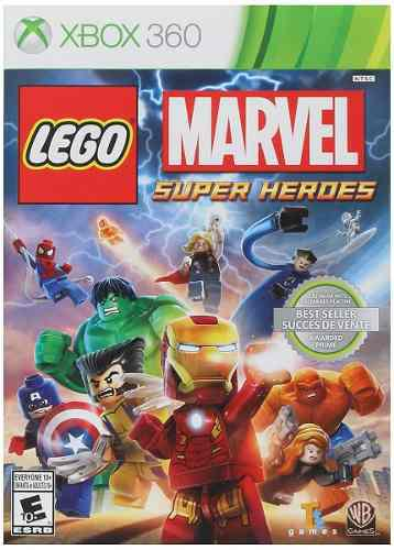 Lego Marvel Super Heroes Xbox 360 (en D3 Gamers)