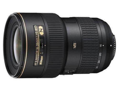 Lente Gran Angular Nikon Af-s  F4 Vr