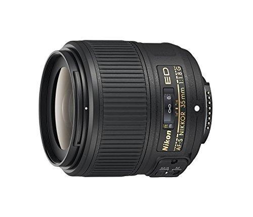Lente Nikon Objetivo Nikkor Af-s 35mm 1.8g Ed Fx Full Frame