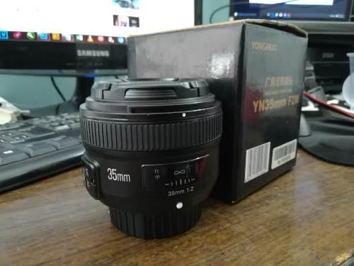 Lente Youngnou 35 Mm 1.2 Para Nikon