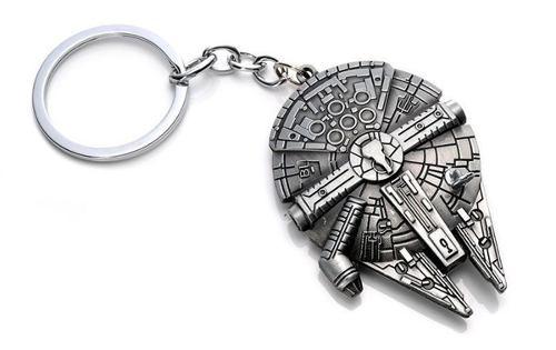 Llavero Millennium Falcon Halcon Milenario Star Wars Metal