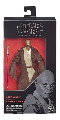 Mace Windu Black Series Star Wars Hasbro Envio Gratis