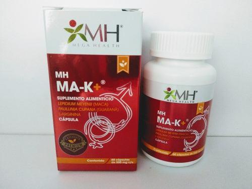 Mak+ Cápsulas (energético Para Hombres Y Mujeres)