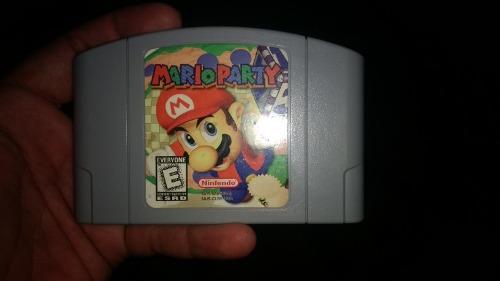 Marioparty 64 Excelente Estado Nintendo 64, Original N64