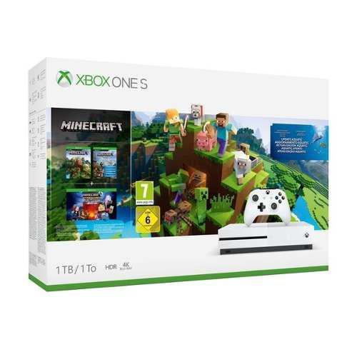 Microsoft X Box One S Consola Videojuego Con Juego