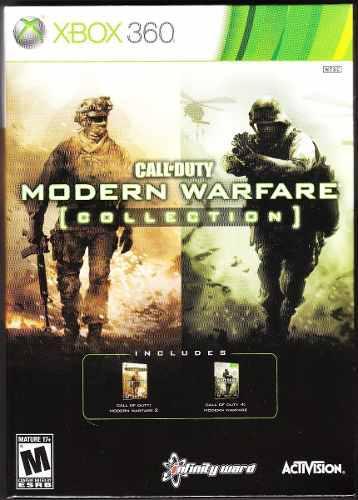 Modern Warfare 1, 2,3 Xbox 360 Costo X Todo Leer