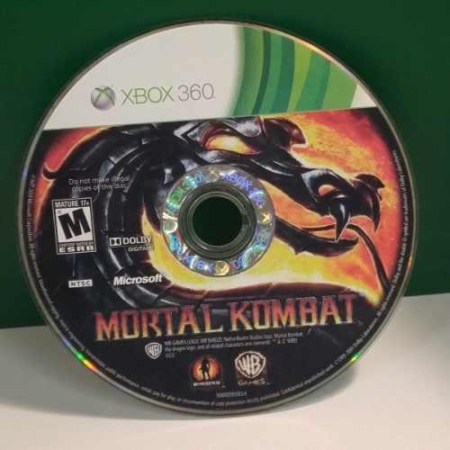 Mortal Kombat Usado Para Xbox 360 Blakhelmet C