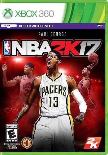 Nba 2k17 Xbox 360 Nuevo Y Sellado En D3 Gamers