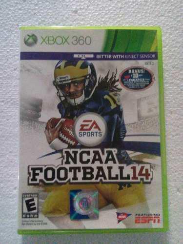 Ncaa Football 14 Xbox 360 2014 Xbox360 Nfl
