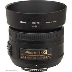 Nikon Nikkor Dx 35mm F/1.8 G, Completamente Nuevo.