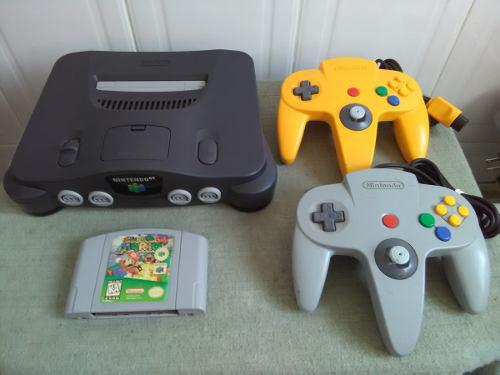 Nintendo 64 Completo 2 Controles Super Mario 64