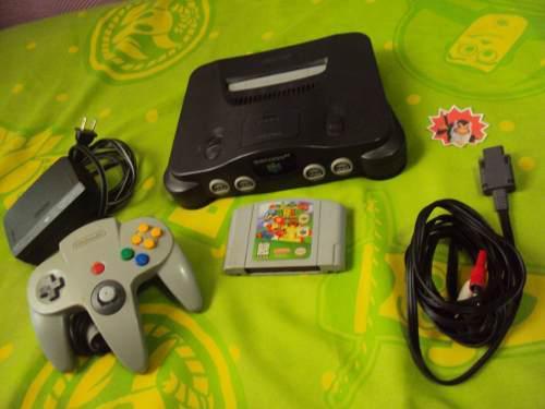Nintendo 64 Con Super Mario 64, N64 Envio Gratis