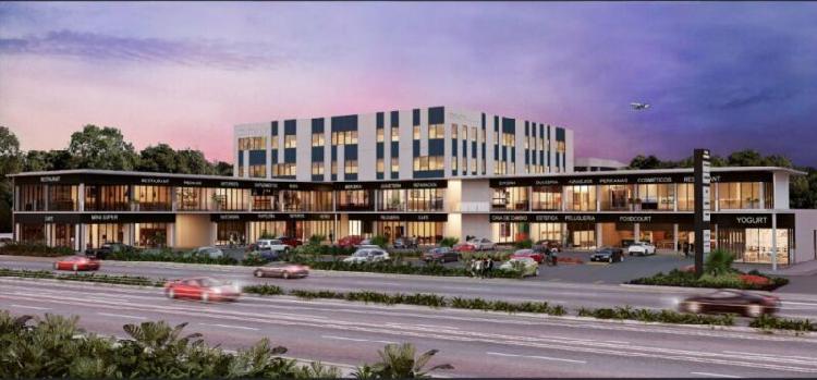 Oficina en Renta Cancun Blvd Colosio Plaza Comercial