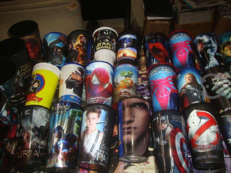 Pack de 100 Vasos Promocionales de Cine