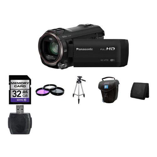 Panasonic Hc-v770 Videocámara Full Hd 32gb Paquete