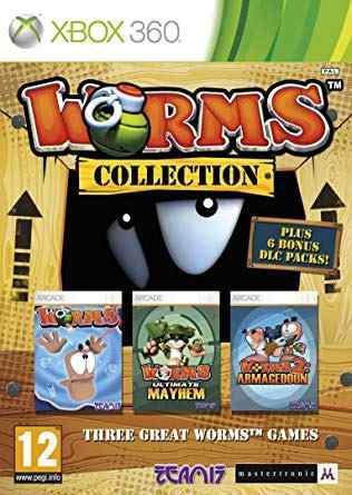 Paquete De Juegos Worms Collection - Xbox 360