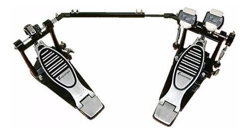 Pedal Doble Bombo D Batería Reforzado Doble Cadena