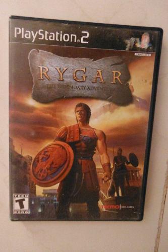 Ps2 Playstation 2 Rygar The Legendary Adventure Videojuego