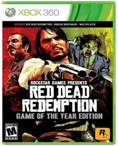 Red Dead Redemption Goty Edition Xbox 360 Nuevo Juego