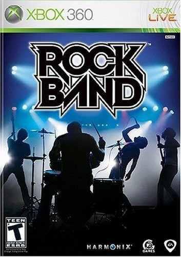 Rock Band 1 Usado Para Xbox 360 Original Blakhelmet C