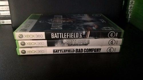 Saga De Battlefield 1, 2 Y 3 Xbox 360 - Envio Gratis