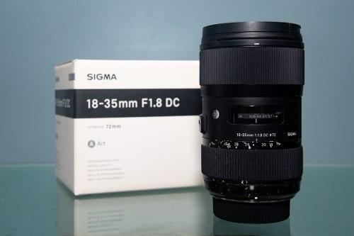 Sigma mm F1.8 Para Nikon