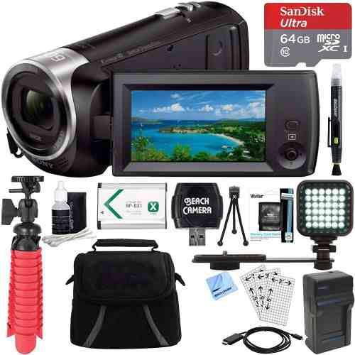 Sony Hdr -cx405 / B Completo Hd 60p Videocámara + 64gb