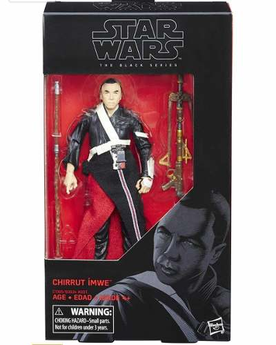 Star Wars Black Series Chirrut Imwe 6 Pulgadas