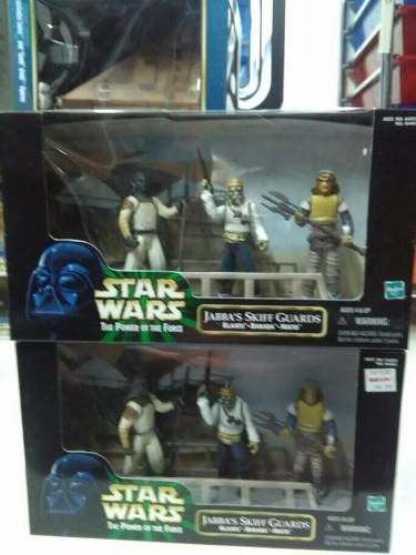 Star Wars Jabba´s Skiff Guards Tmc