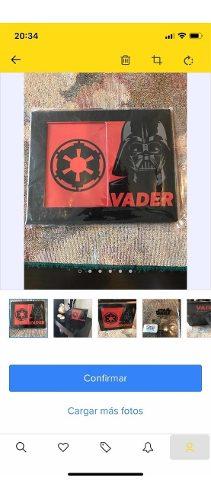 Starwars Darth Vader Porta Retrato Orig. Licencia Lucasfilm