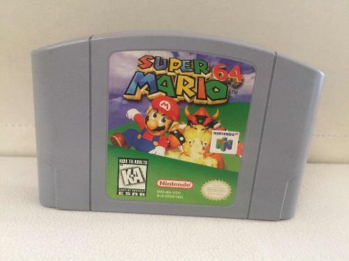 Super Mario 64 N64 Nintendo Original