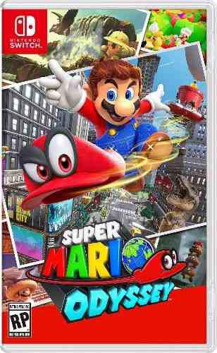 Super Mario Odyssey Para Nintendo Switch::.