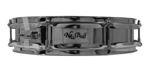 Tarola 14x3 Plg New Beat Bateria Metalica Nbs1403