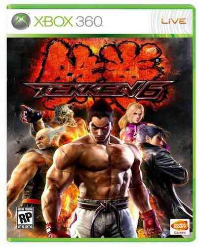 Tekken 6 Xbox 360 Nuevo Y Sellado Juego Videojuego