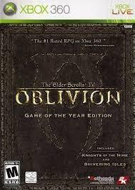The Elder Scrolls Oblivion Game Of The Year Edition Xbox 360