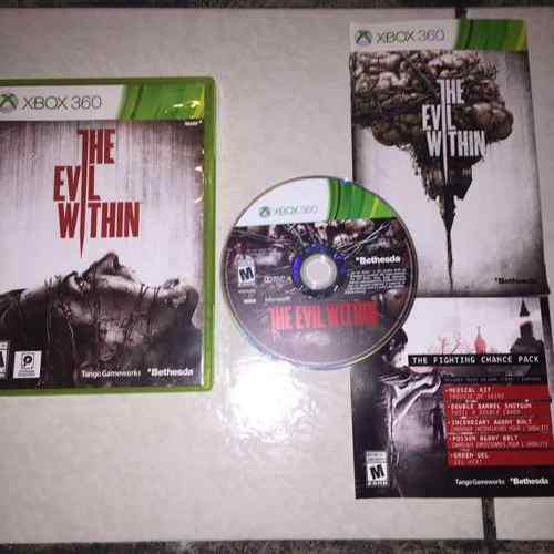 The Evil Within Juegazo Completo Para Tu Xbox 360 Survival