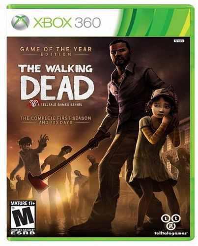 The Walking Dead Goty Edition Xbox 360 Nuevo Y Sellado Juego