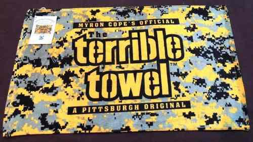 Toalla Terrible Terrible Towel Camuflaje Pittsburgh Steelers