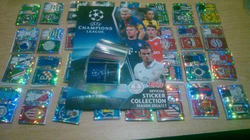 Topps Uefa Champions League Album Completo Sin Pegar 2016/17
