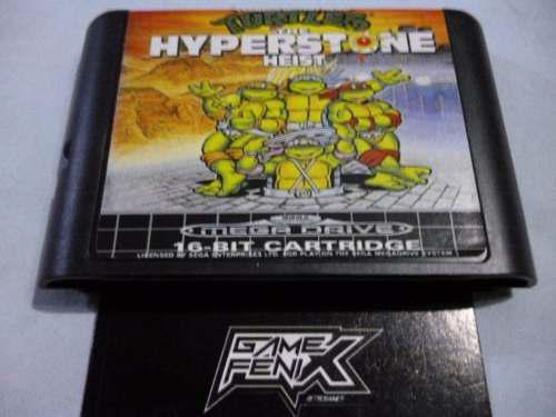 Turtles: Hyperstone Heist Genesis (r3pr0) Game Fenix. 380