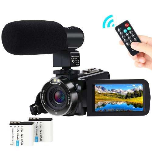 Vídeo Cámara De La Videocámara, Actitop 1080p Fhd