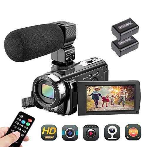 Videocámara Aazomba Fhd 1080p 24.0mp Vlogging -negra