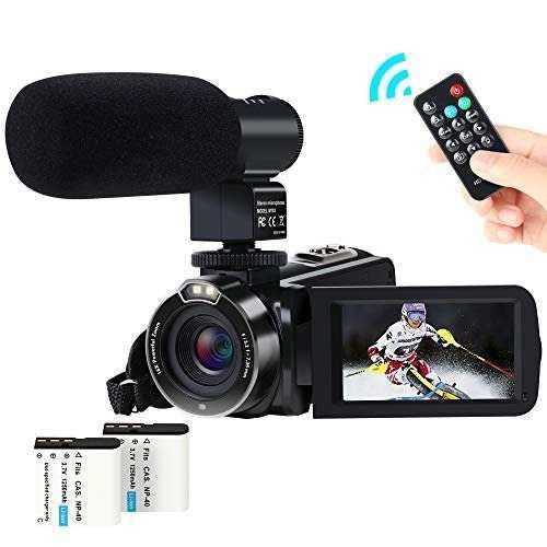 Videocámara Actitop 1080p Fhd 24.0mp 16x Control 2
