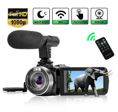 Videocámara Digital Vídeo Cámara, Wifi Vlog Cámara