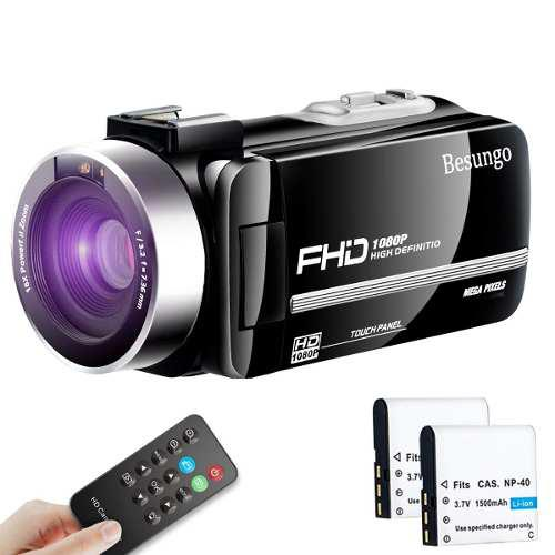Videocámara Hd 1080p 24mp Zoom 16x Lcd Rota 270 + 2